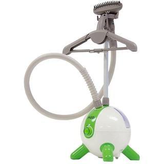 The Laundry POD Deluxe Upright Garment Steamer - White/Green