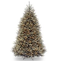 7.5-foot Dunhill Blue Fir Hinged Tree with 750 Clear Lights