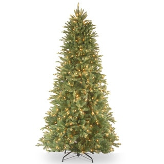 Link to 6.5-foot Realistic Fir Lit Slim Tree Similar Items in Christmas Greenery