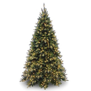 7.5-foot Tiffany Fir Tree with 700 Clear Lights