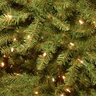 10-foot Dunhill Fir Tree with 1200 Clear Lights (2 options available)