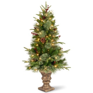 4-foot Colonial Entrance Tree with Clear Lights