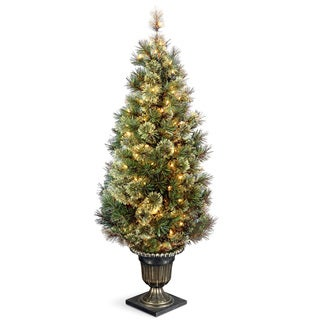 5-foot Wispy Willow Grande Entrance Tree with Clear Lights
