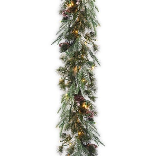 "9' x 10"" ""Feel Real"" Liberty Pine Garland"