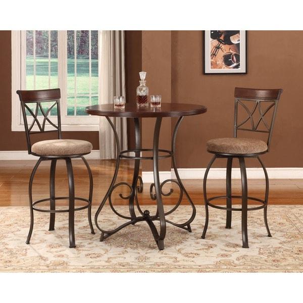 Powell 3 Piece Eden Pub Table Set