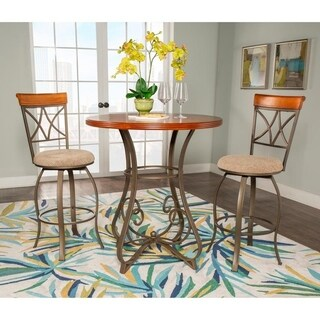 Powell 3-piece Eden Pub Table Set