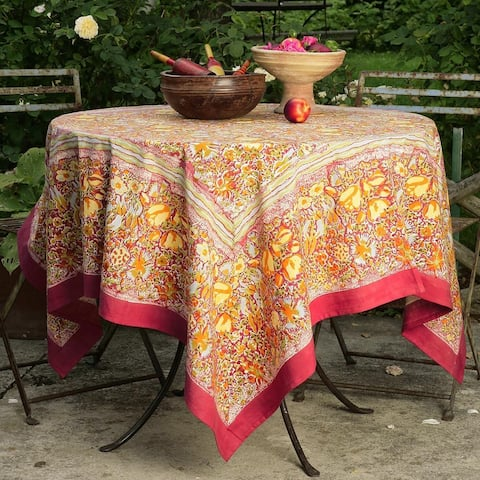 Couleur Nature Jardine Square Tablecloth