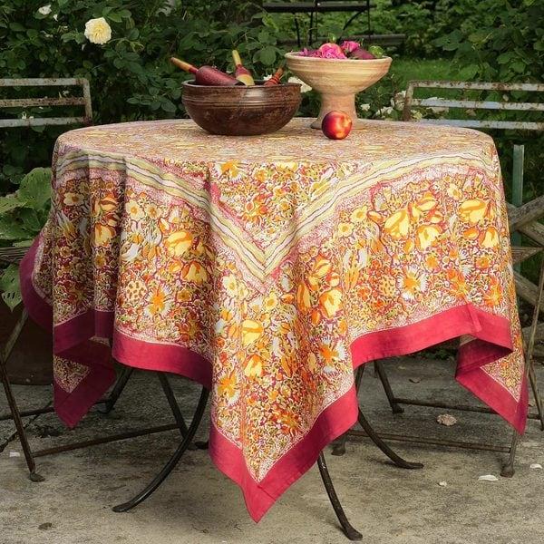 Couleur Nature Jardine Square Tablecloth Free Shipping  : Couleur Nature Jardine Square Tablecloth 1b1f2fa0 2f87 4514 afde 6b266bb6b47b600 from www.overstock.com size 600 x 600 jpeg 106kB