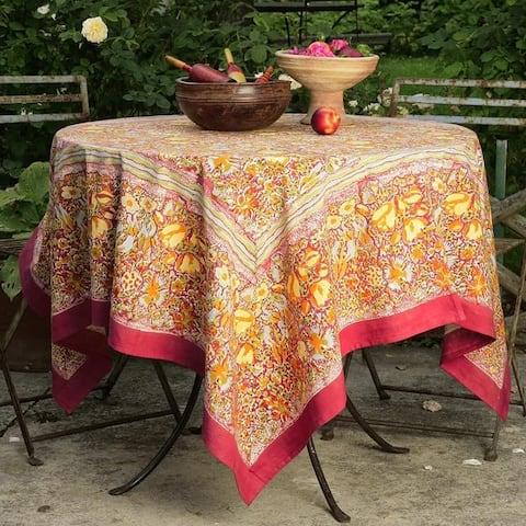 Couleur Nature Jardine Square Tablecloth