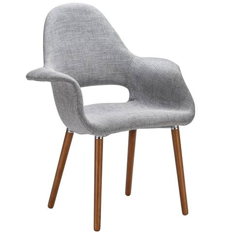 EdgeMod Barclay Dining Chair in Light Grey