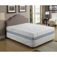 AC Pacific 12-inch Queen-size Gel Infused Memory Foam Mattress
