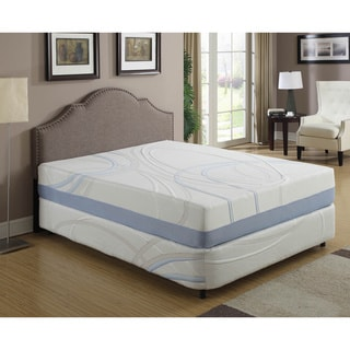 ac pacific 12inch queensize gel infused memory foam mattress