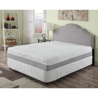 12-inch King Green Tea Infused Memory Foam Mattress