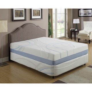 12-inch California King Gel Infused Memory Foam Mattress