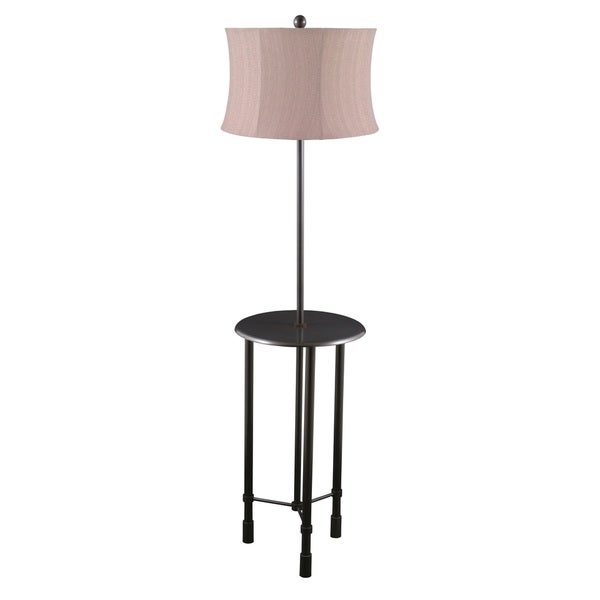 Mr. Lamp and Shade #QF-1529 57-inch Oil Rubbed Bronze Metal Floor Lamp