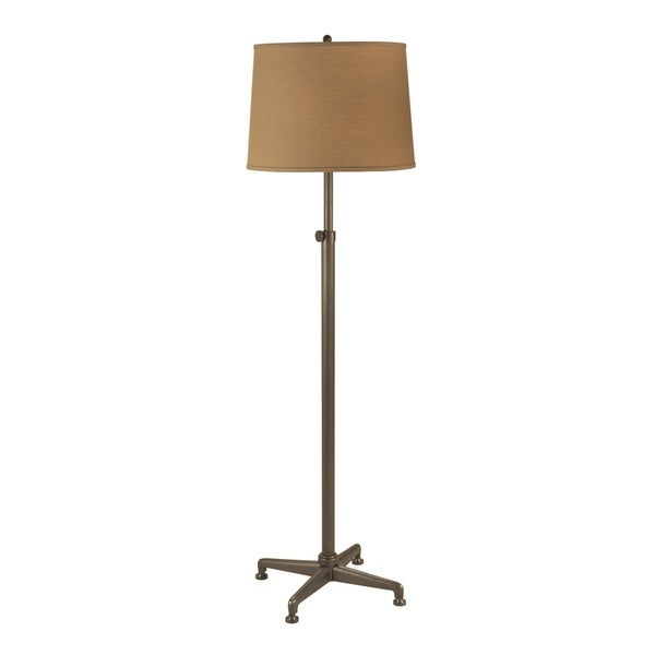 Mr. Lamp and Shade #QF-1577 55 to 64-inch Bronze Industrial Metal Floor Lamp with Adjustable Stem