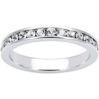 Eternally Haute Stackable Crystal Eternity Band https://ak1.ostkcdn.com/images/products/9426738/P16613188.jpg?impolicy=medium