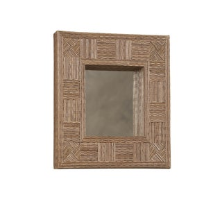 Linon Mosaic Cocostick Rectangle Mirror