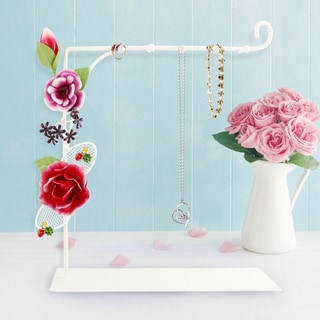 Jacki Design Bella Rosa Necklace Holder