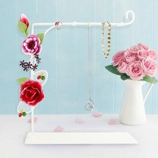 Jacki Design Bella Rosa Necklace Holder
