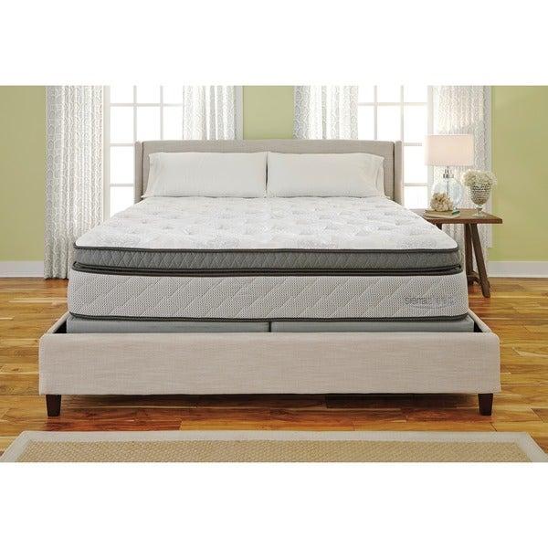 Sierra Sleep Mount Whitney Box Top Queen Size Mattress Or