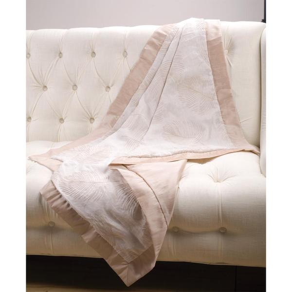 Sandy Wilson Linen Throw Blanket