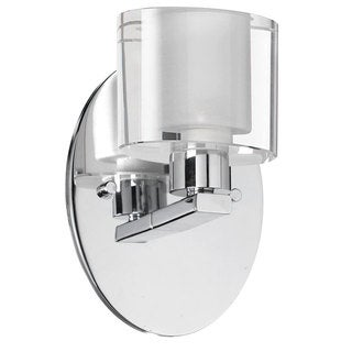Dainolite 1-light Glass Wall Sconce