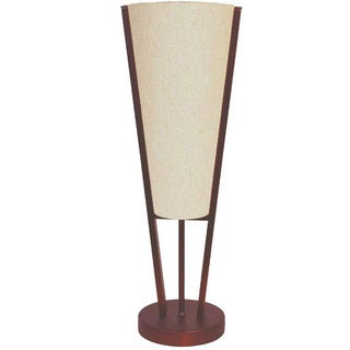 Emotions Flax Shade and Oil-brushed Bronze Single-light Table Lamp