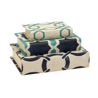 Hadley Book Boxes (Set of 3)