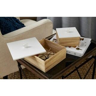 Mochrie Lidded Boxes (Set of 2)