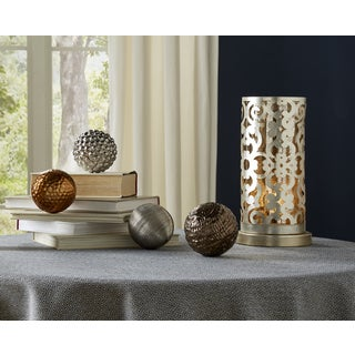 Metallic Finished Orbs (Set of 4)