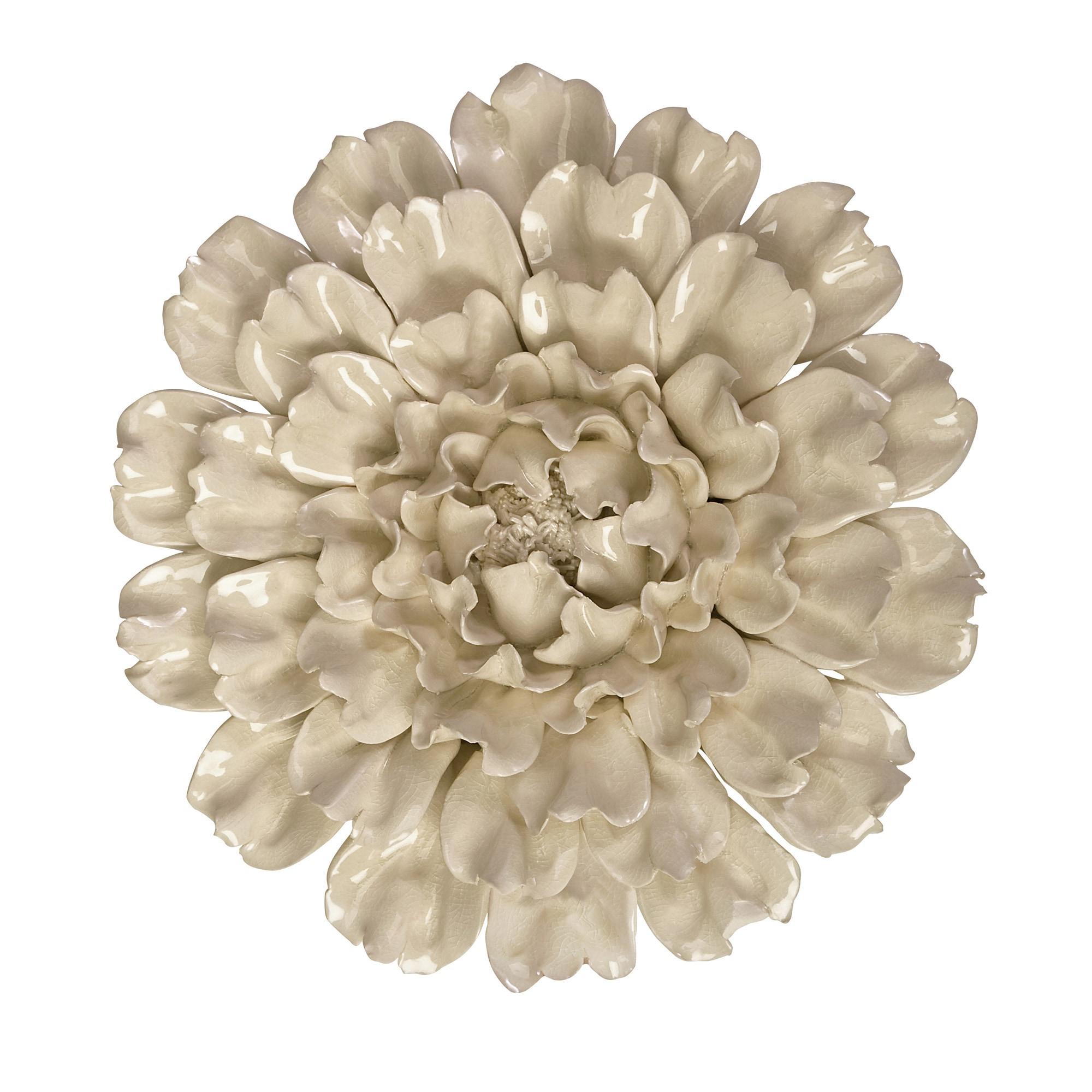 Isabella Large Ceramic Flower Wall