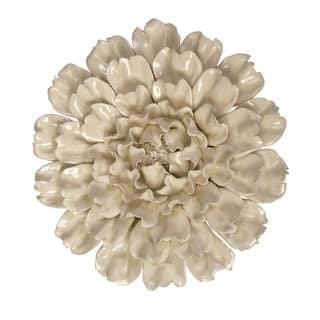 Isabella Large Ceramic Flower Wall Decor|https://ak1.ostkcdn.com/images/products/9427133/P16613562.jpg?impolicy=medium