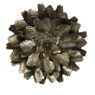 Moray Iron/ Glass Wall Flower