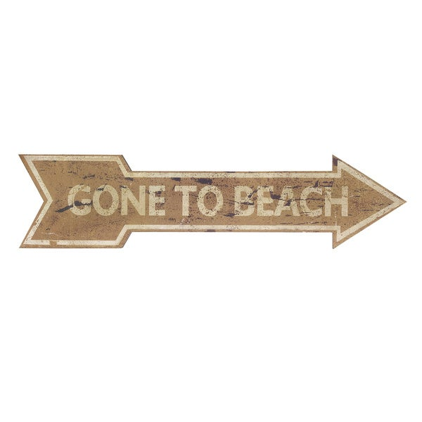 Beach Break Wall Decor Sign