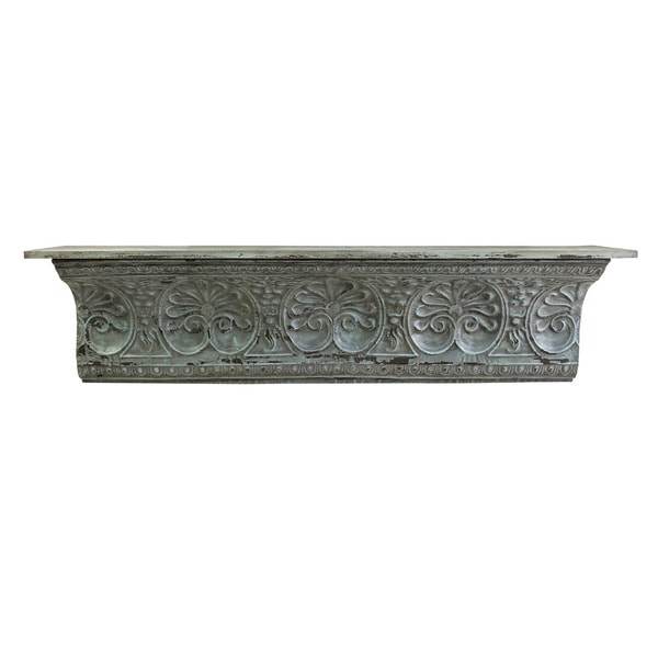 Decorative Wall Shelves Metal : Aster metal wall shelf free shipping today overstock
