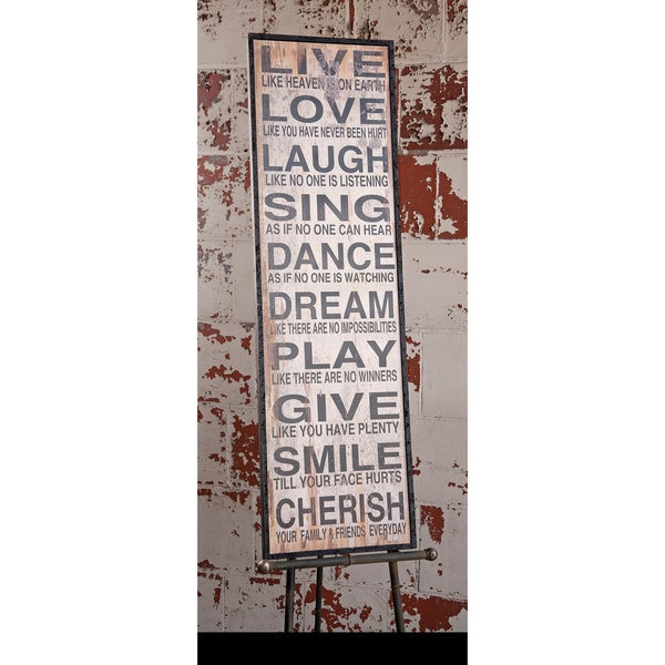 live love laugh wall decor free shipping today