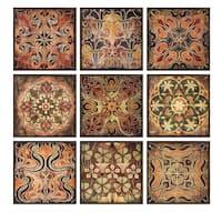 Tuscan Wall Panels (Set of 9)