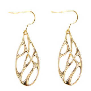 De Buman 18k Gold Plated Unique Earrings