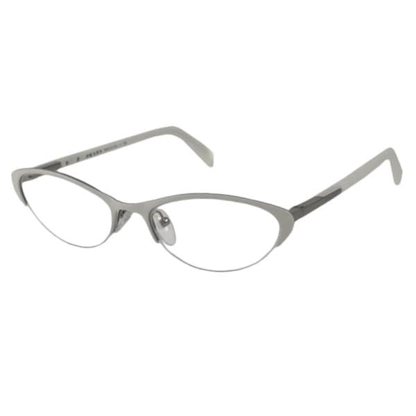 Prada Eyeglass Frames Cateye : Prada Womens PR54PV Cat-Eye Optical Frames - Free ...