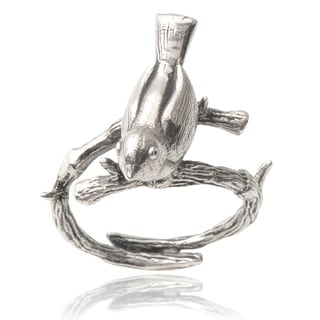 Journee Collection Sterling Silver Bird Ring