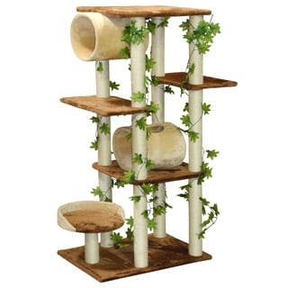 Go Pet Club Beige 58-inch Cat Tree