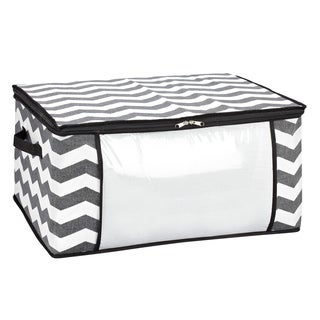 The Macbeth Collection Chevron Printed Blanket Bag