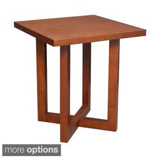 Regency 21-inch Chloe Square Veneer End Table