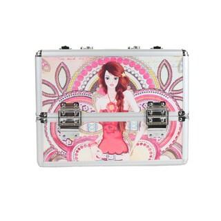 Nicole Lee Marina Print Travel Cosmetic Case