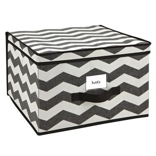 The Macbeth Collection Jumbo Chevron Printed Storage Box