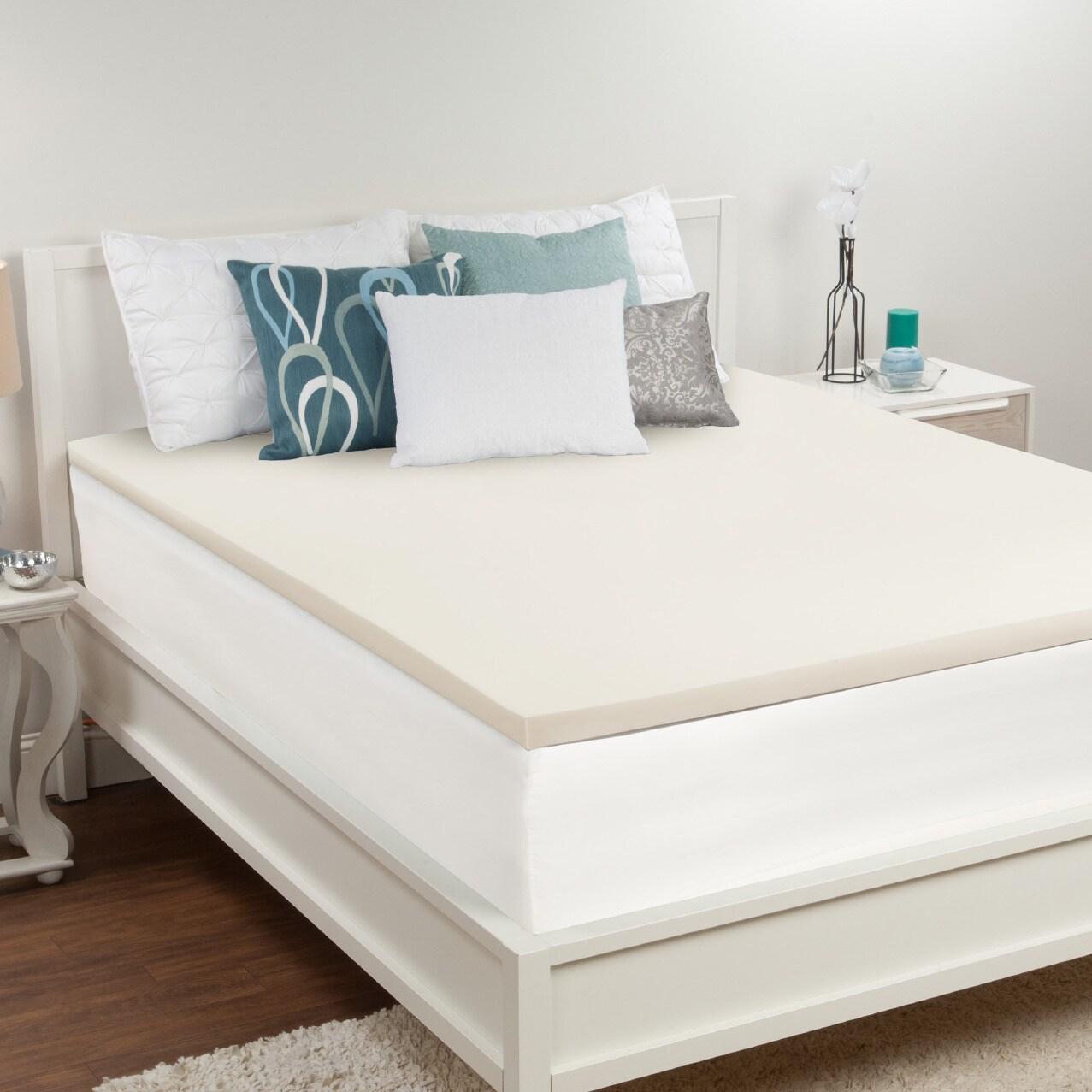 Sealy Premium 1.5-inch Memory Foam Mattress Topper (King)...