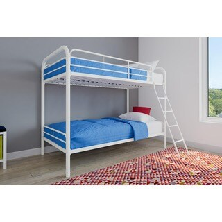 Avenue Green Edison Twin over Twin Metal Bunk Bed