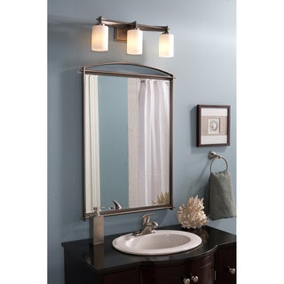 Quoizel Taylor Antique Nickel Large Mirror - Antique Nickel