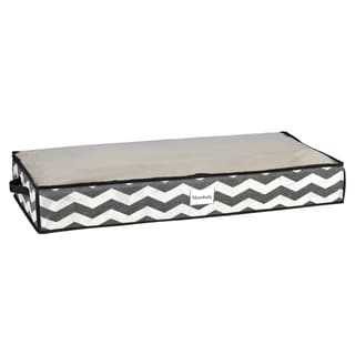 The Macbeth Collection Chevron Printed Under-the-Bed Storage Bag